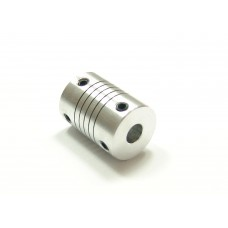10mm x 10mm Aluminum Flexible Shaft Ballscrew Coupler Coupling
