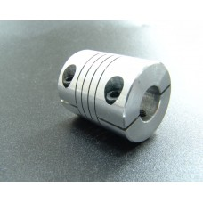 12mm x 12.7mm Aluminum Flexible Shaft Ballscrew Coupler Coupling