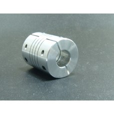 11mm x 11mm Aluminum Flexible Shaft Ballscrew Coupler Coupling