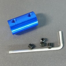 4mm x 5mm Aluminum Rigid Shaft Coupler