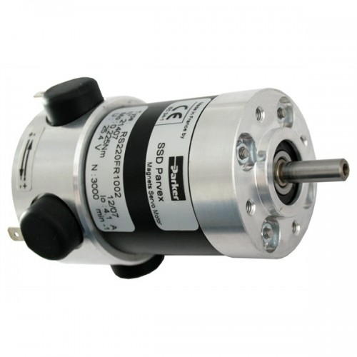 parvex dc servo motor with encoder